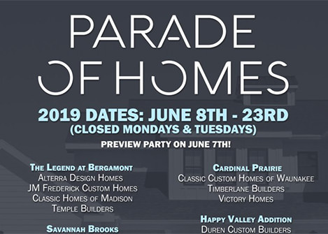 Livable Communities to Host 4 Neighborhoods in the 2019 MABA Parade of Homes
