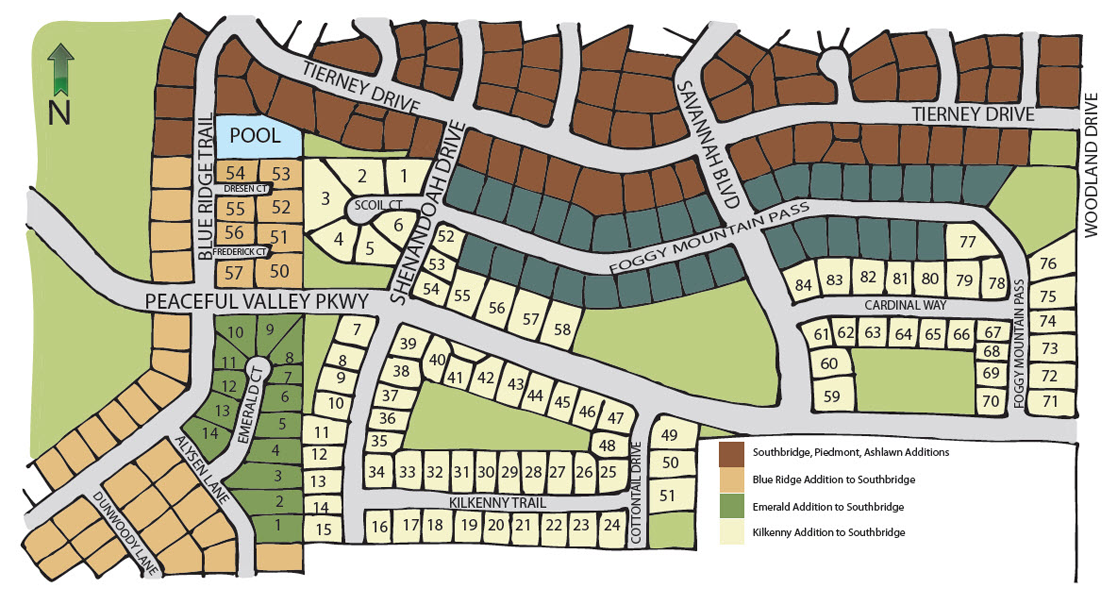 Southbridge Site Map
