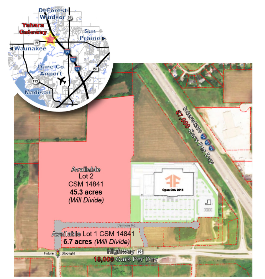 Yahara Gateway Site Map